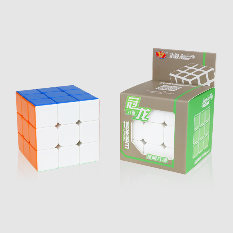 Yongjun GuanLong V3 Enhanced Edition 3x3x3 Magic Cube Puzzle Toys For Challenge Toys For Children Kids Cubo Magico - Colorful