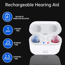 V30 Rechargeable Audifonos Hearing Aid Portable Sound Amplifier Invisible Adjustable Tone hearing aid Exquisite hearing aid