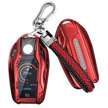 Coque souple en TPU pour BMW, compatible modèles 5, 7, G11, G12, G30, G31, G32, i8, I12, I15, G01, X3, G02, X4, G05, X5, G07, X7, accessoires