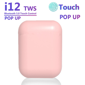 Macaron i12 tws Wireless Headphones Bluetooth 5.0 Earphones Original inpods 12 Touch Pop-up True Earbuds Earpiece PK i11 i9s tws