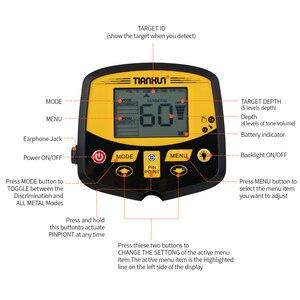 Image 2 - TIANXUN TX 950 حساسية عالية المهنية تحت الأرض الذهب والفضة للكشف عن المعادن الكنز هنتر البحث مع شاشة الكريستال السائل