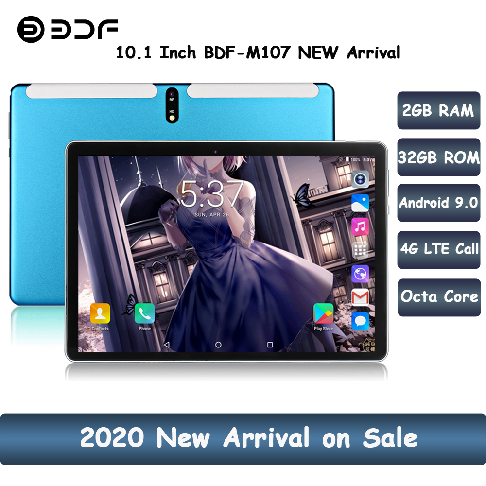 New Arrival 10.1 Inch 4G LTE Phone Tablet Pc Android 9.0 Octa Core CE Brand Dual 4G SIM Google Play WiFi Bluetooth Pc Tablets 10