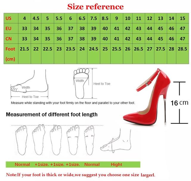 16cm Heels Extreme Ladies Shoes Pumps PU Leather Big Size 46 Model Show Work Stilleto Shoe 2020 New Elegant Women Shoes Fashion