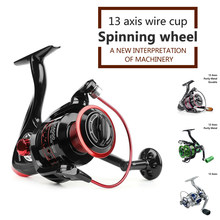 Fishing Reels Spinning Reel Carp Fishing Reel Fishing Accessories Sea Feeder Coil Fixed Spool Baitcasting Reel for Rod Saltwater(China)