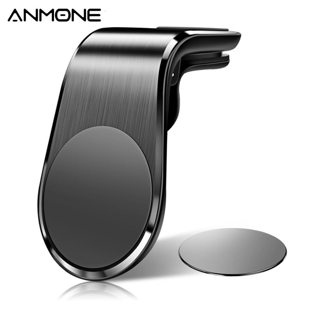 ANMONE Phone Holder Magnetic Car Holder Mount Stand Universal Air Vent Clip Metal Mount For IPhone 11 Pro Max Huawei Xiaomi