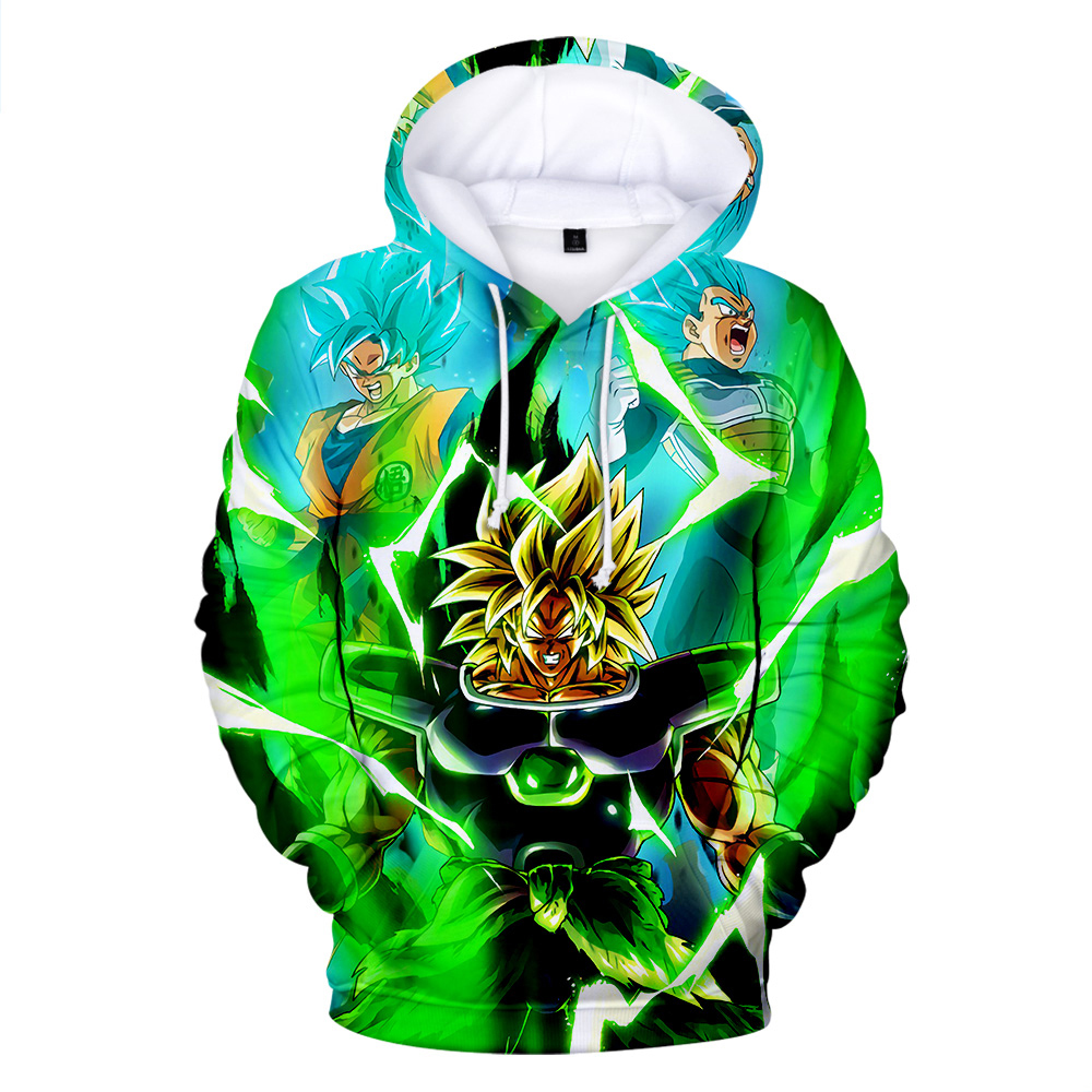 3D Hoodie dragon ball men's new 2020 spring Sweatshirt streetwear Hoodie super Broly printed Dragon Ball 3D Hoodie men clothing