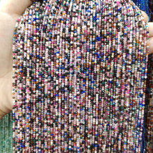 цена Natural Stone Beads section Small Round Loose Stone Bead Perforated beads for Jewelry Making DIY Bracelet Necklace Accessories онлайн в 2017 году