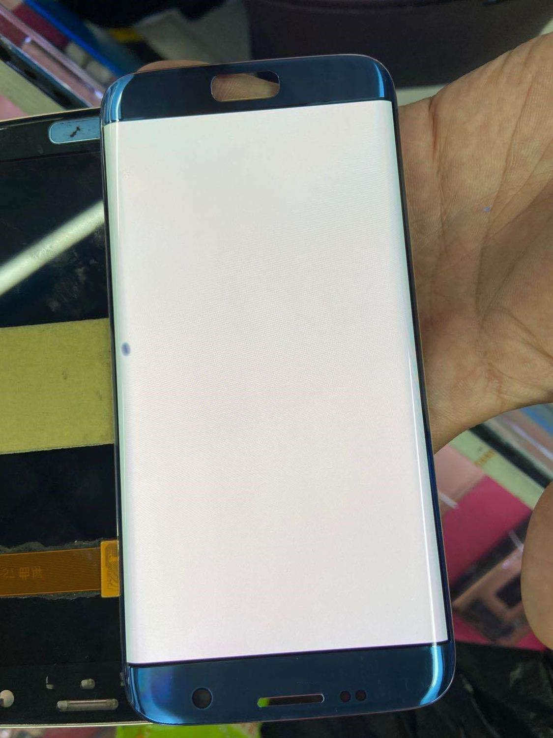 Super Amoled with Dead spot <font><b>LCD</b></font> For <font><b>samsung</b></font> galaxy S7 edge <font><b>G935</b></font> SM-G935F <font><b>LCD</b></font> Display Touch Screen Digitizer Assembly with Frame image