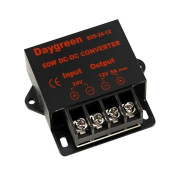 12V a 5V 10A de 24V a 5V 3A 5A 10A 15A convertidor DC regulador reductor de tensión de vehículo de 12V/24V a 5V 3A 5A 10A 15AMP 1