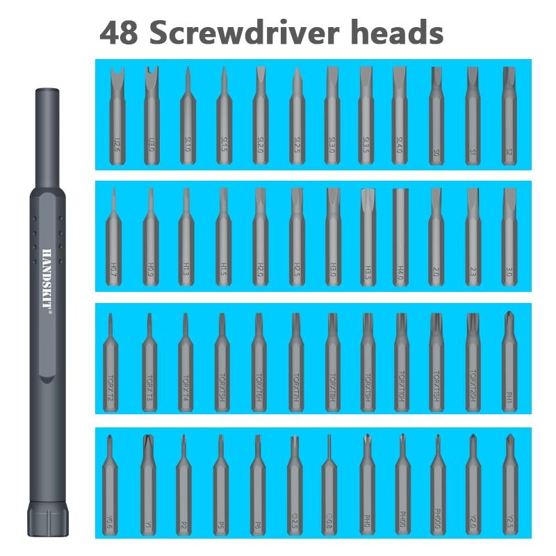 Image 2 - Handskit 49 in 1 Precision Screwdriver Set magnet Repair  Electronics Screwdriver Set Electronics Repair Tool Kit-in Screwdriver from Tools