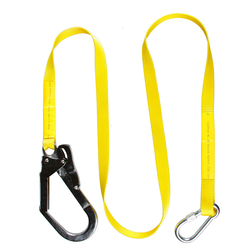 Hiking Safety Belt Lanyard Harness Protection Carabiner buckle Falling