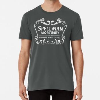 Camiseta mortuoria de Spellman, camiseta de Kiernan Shipka Jughead Aaron Kinkle Spellman, mortuorio, Aaron Riverdale 90s Spellman Caos