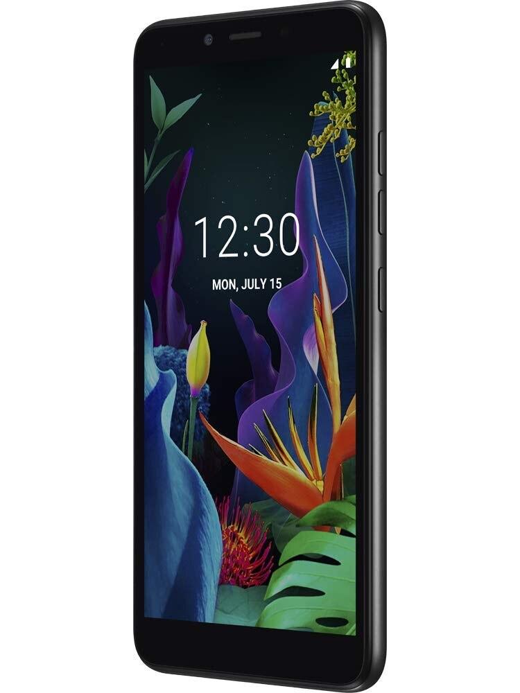 LG K20, Black Color (Aurora Black), 16 GB Of Internal Memory 1 GB RAM, Dual Sim, 5.45