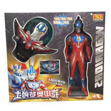 Japan Anime Ultraman Altman Figure God Laser Sword Toy with Music LED Flashing Kids Toys Christmas Gift 38cm ultraman orb sacred sword and spear dart which emits light and sounds is a children s like ultraman toy