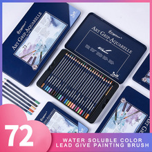 Giorgione 72Colors Premium Soft Watercolor Pencils Professional Triangle Colored Pencils for Drawing Sketch Artist Students