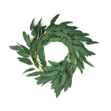 2M Artificial Willow Vine Faux Leaves For Home Christmas Wedding Decoration Party Plant Wreath Bushy