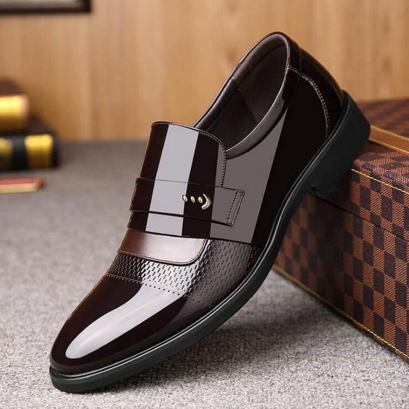 Pointed Toe Business Formal Shoes