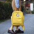 Kajie Harajuku Mulheres Bonito Mochila Escolar Ocasional Saco de A Viagem de Chihiro Doces Cor Sacos Adolescente Mochilas de Viagem Da Lona Feminino