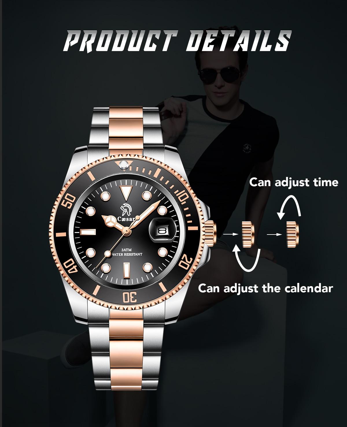 H4ccd8fd8c8374f55b4eb28865744f355Z Rose Gold caesar  Top Brand Luxury Watches
