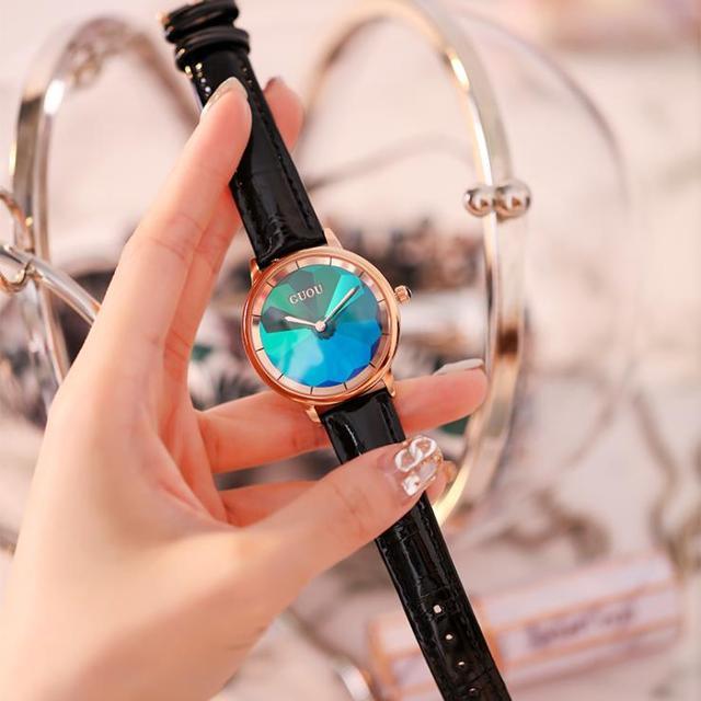 montre femme High Quality Women Watches Casual Quartz New Arrival Gradient Color Lady Wristwatch Casual Clock Relogio Feminino   Fotoflaco.net