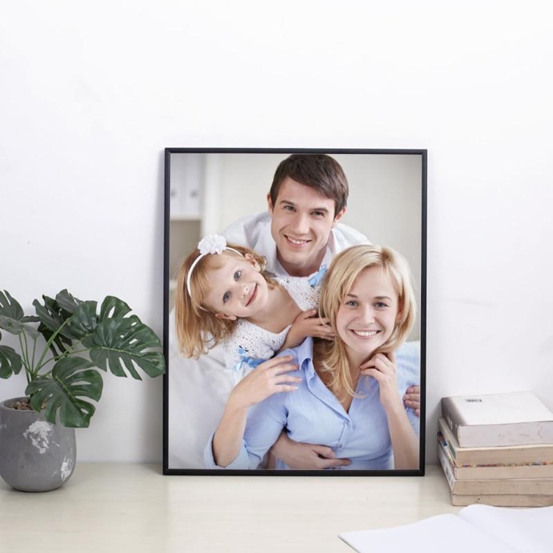 Photo-Frame Poster Wall-Mountable Portrait Metal Plain European-Style Nice Home New Gift