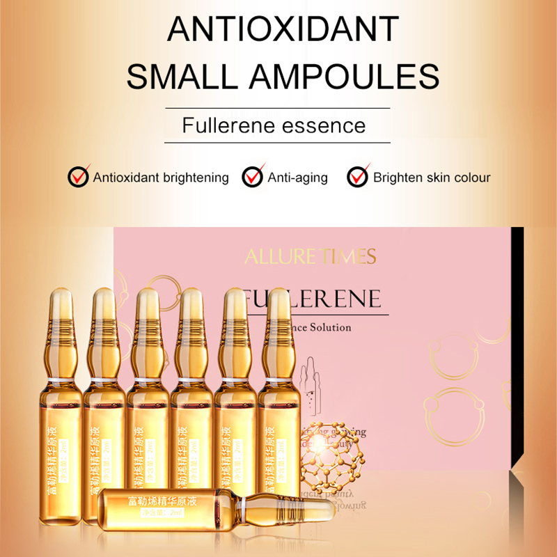 2 Ml X 7 Pcs/Set Ampoule Essence Antioxidant Anti-aging Cell Repair Anti Wrinkle Skin Care Brightening Skin Face Serum TSLM2
