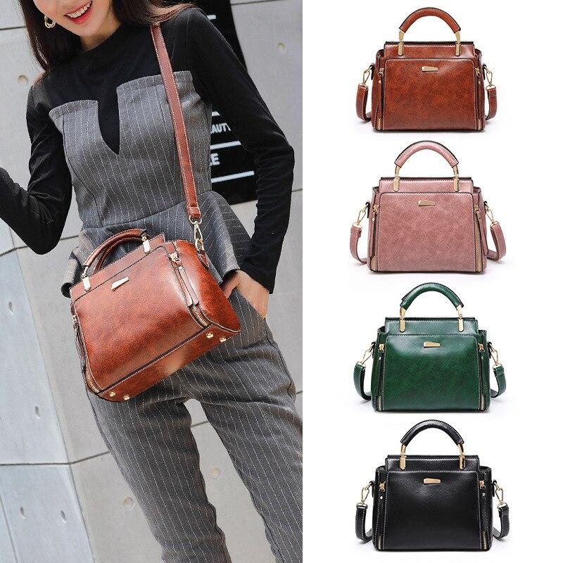 Square Bag Handbag Shoulder-Bag-Bags Small Summer Joker Carrying Temperament Slung Simple