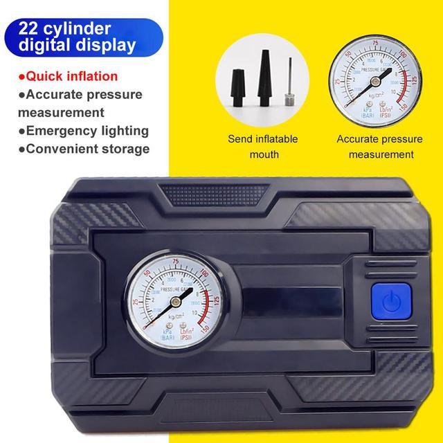 Professionnel voiture pneu gonfleur 12V numérique pneu pompe gonflable 150 PSI éclairage Auto compresseur dair pour voitures roue pneus
