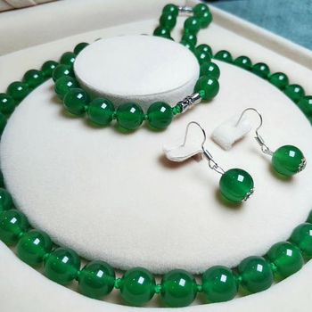 Designer Jewelry Glass Jadeite Egg Noodle Safety Buckle Necklace A Goods Hanging Pendant