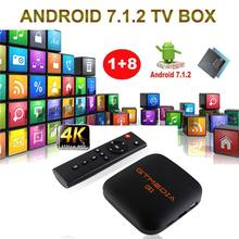 GTmedia G1 Smart TV Box Android 7.1 Android TV BOX 1GB RAM 8GB ROM Google Play Store Support IPTV Youtube films en ligne 4K GTUI()