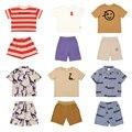 Pre-sale 2021 Summer Casual Wyn Series Stitching Kids Boys T-shirt Cotton Cartoon Girls T Shirt For 1-10Y Children Clothes