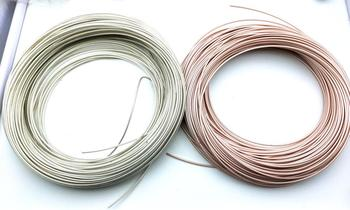 1 Reel Resistant to high temperature 250 ℃ RF Coaxial Cable 50ohm M17/113 RG316 Shielded Pigtail cable
