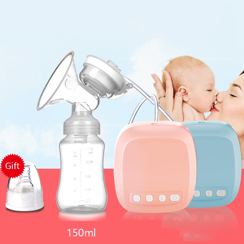 Butterfly Qi Breast Pump Electric Breast Pump Milker Suction Large Automatic Pumping Set Milk Collection Postpartum Milk Maker