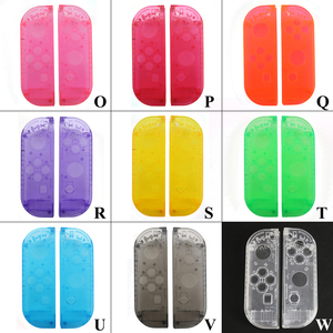 Image 3 - YuXi Protection Cases for Nintend Switch NS Joy Con Replacement Housing Shell Cover for NX JoyCons Controller Case Green Pink