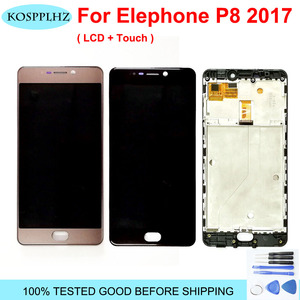 Image 1 - Original Tested LCD Screen For Elephone P8 2017 LCD DIsplay+Touch Screen Digitizer Assembly+Frame For Elephone P8 (2017) +Tools