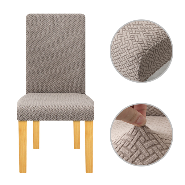 Polar Fleece Fabric Thick Super Soft Chair Cover Stretch Slipcovers  Elastic Office Chair Banquet Hotel Seat Chair Covers