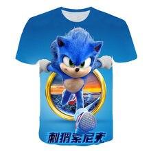 T-shirt pour enfants garçon, Sonic et le hérisson