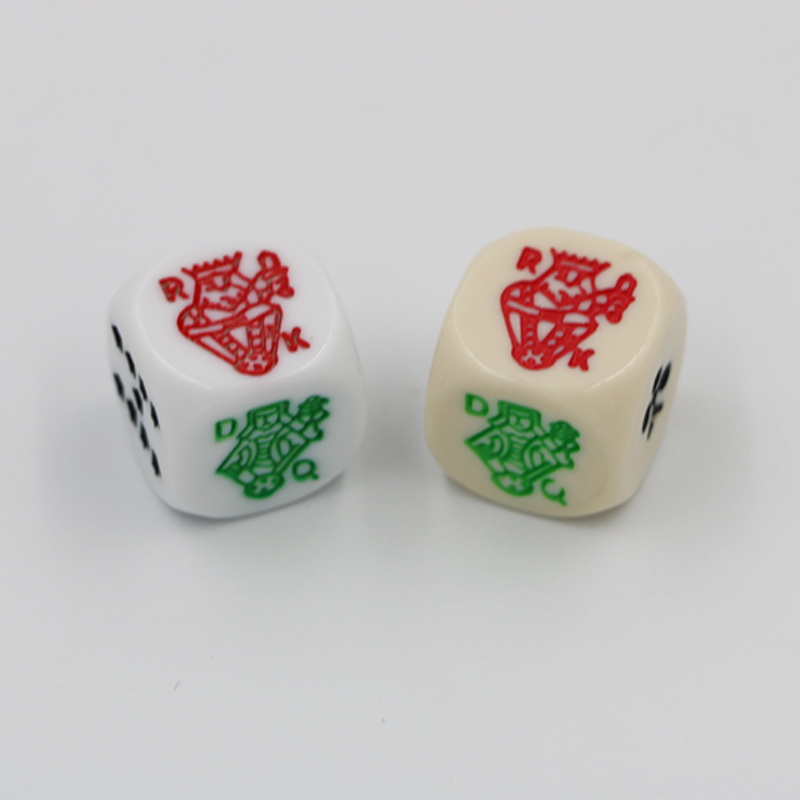 16 Poker Dice lot Rounded Corners
