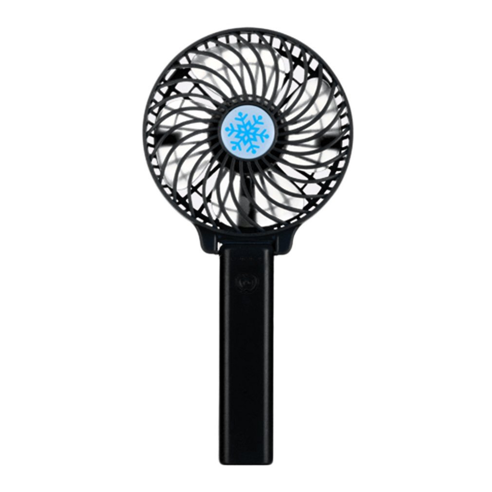 Portable Hand Fan USB Rechargeable Foldable Handheld Mini Fan Cooler 3 Speed Adjustable Cooling Fan Decor