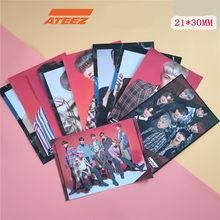 2 шт. ATEEZ возвращает новый альбом сокровищ EPILOGUE: экшн-ответ вокруг постеров наклейки фото картинки коллекция