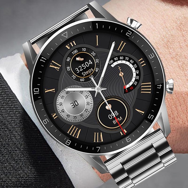 Ipbzhe Смарт часы для мужчин 2021 вызовов через Bluetooth умные часы на системе Android мужские IP68 Reloj Inteligente Смарт часы для мужчин IOS Iphone Huawei|Смарт-часы| | АлиЭкспресс