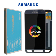 Original AMOLED 5.1 LCD Display For Samsung Galaxy S6 Active G890 G890A LCD With Touch Screen Digitizer Replacement Parts