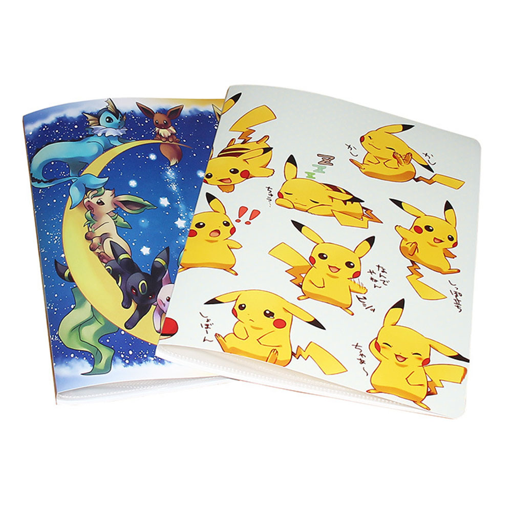 TOMY Pokemone Cartoon Anime 324pcs Game Card Collection Album Holder Book Top Loaded List Toys Gift