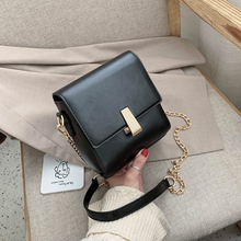 PU Leather Shoulder Messenger Bags for Women 2020 New Fashion Mini Crossbody Mobile Phone Bag Female Chain Handbags and Purses 2019 new vertical versatile mobile phone bag messenger bag chain cowhide leather handbags fashion mini bag