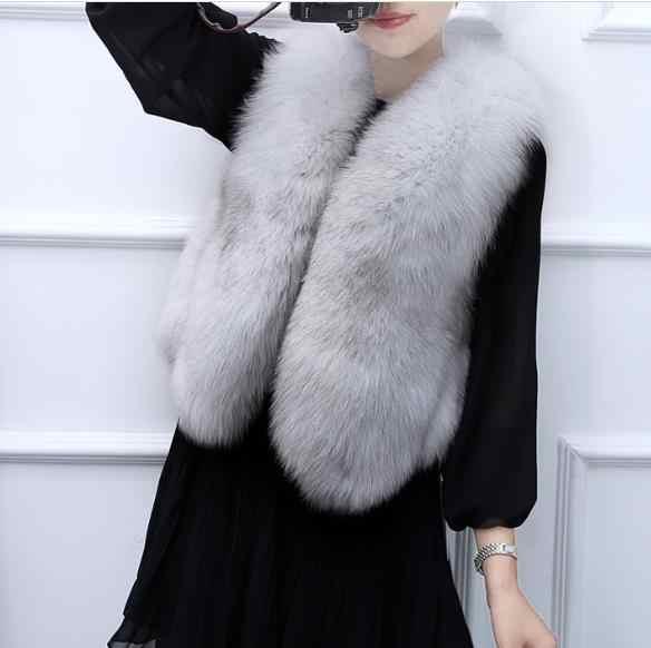 Меховая 2020 зимняя женская куртка из искусственного меха жилет меховые жилетки