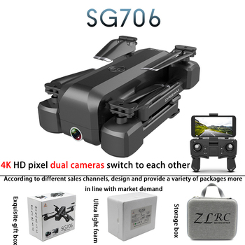 SG706 camera drone long range rc drones with camera hd professional for real estate 4 Channels APP Controller 50x 15min