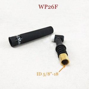 Image 5 - WP26 FV TIG meşale GTAW gaz Tungsten ark kaynak meşale WP26 Argon hava soğutmalı WP 26 esnek boyun gaz vanası TIG kaynak meşale