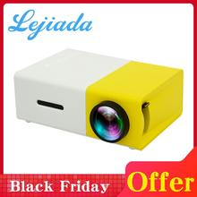 LEJIADA YG300 LED Mini Projector 320x240 Pixels Supports 1080P YG-300 HDMI USB 3