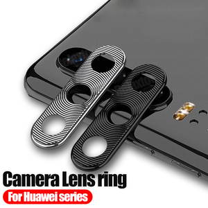 Metal Camera Lens protective ring For huawei p30 pro case Camera cover on huawey p20 lite mate 20 light 20X p 30 mate20 coque(China)