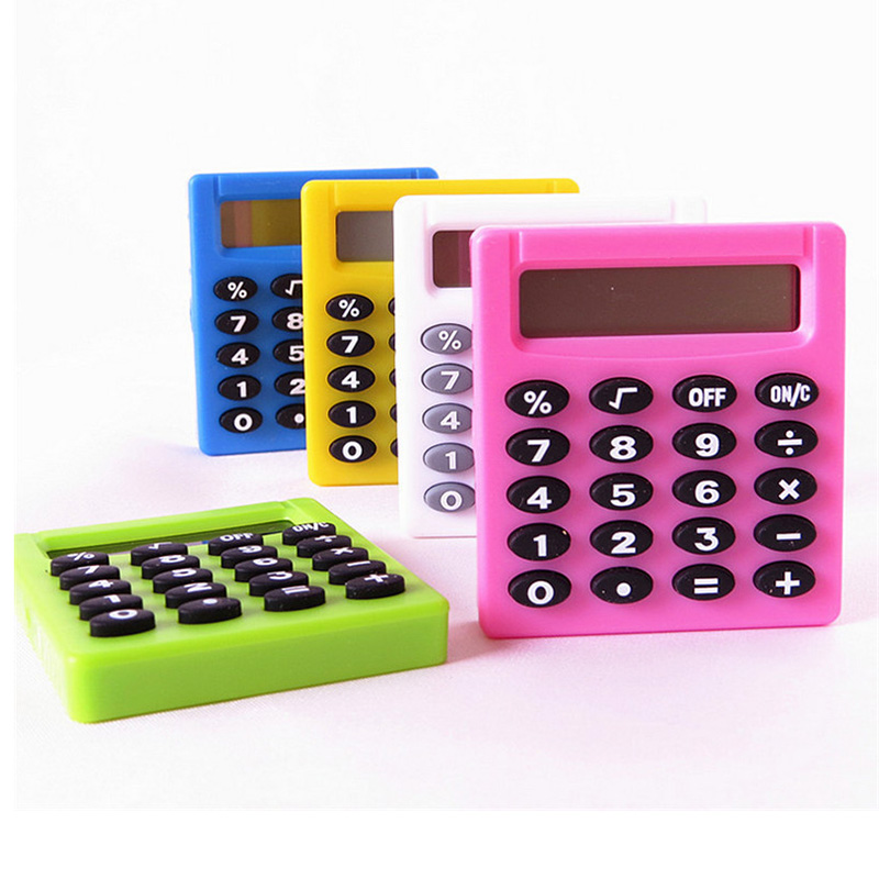 Whole Sale Pocket Cartoon Mini Calculator Ha Ndheld Pocket Type Coin Batteries Calculator Carry Extras